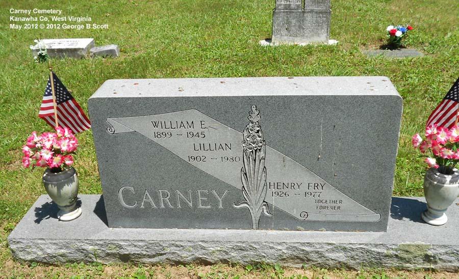 william carney grave