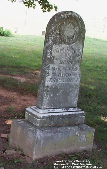 Click Here To View Photo Of The Tombstone